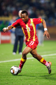 Andre Ayew will be one of Ghana's key players on offense