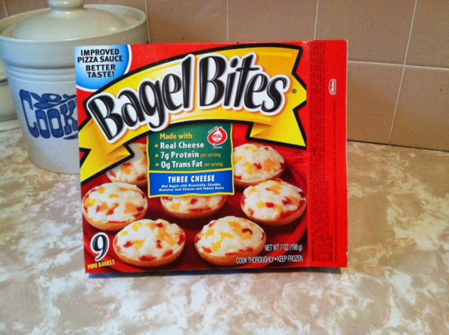 Bagels Bites 9 count box. Photo by Katelyn Avery.