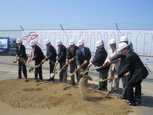 Rectrix groundbreaking