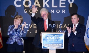 Worcester Welcomes President Bill Clinton To Stump For